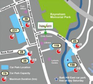 Harvem Ltd - Location Map