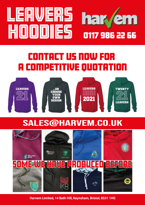 2021 Leavers Hoodies